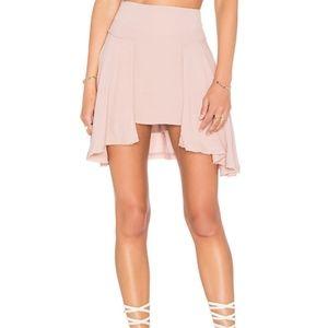 Free People   New York Frayed Skirt